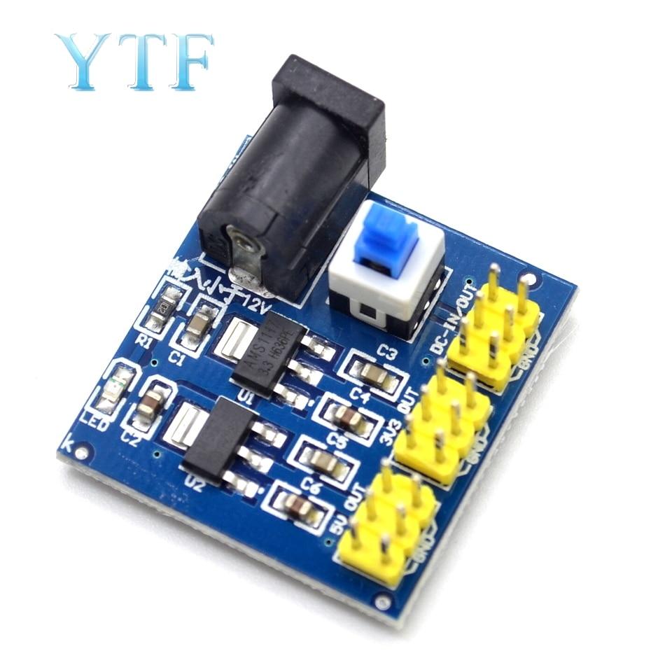 DCDC 12V 3.3V 5V Power Supply Module Output Voltage Conversion Module