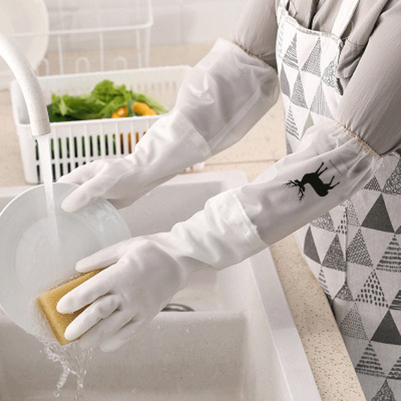 Magic Silicone Dish Washing Gloves Laundry Waterproof Non-slip Wear-resistant And Durable Cleaning Gloves Kitchen Cleaning Tool