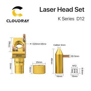 Image 4 - Cloudray K 시리즈 CO2 레이저 헤드 세트 D12 18 20 렌즈 2030 4060 K40 레이저 조각 기계