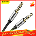 Аудиокабель Baseus с разъемом 3 5 мм  звуковой кабель с двумя штекерами  звуковой AUX кабель для Samsung S10  автомобильный AUX провод для наушников и кол...