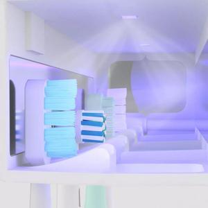 Image 4 - Dr. Meng Smart Steriliseren Tandenborstelhouder Inductie Tandenborstel Oplaadbare Wandmontage Zonder Boren