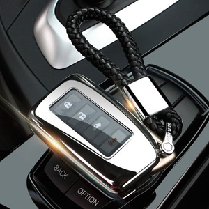 New Car key Bag case fob For Lexus LX570/NX/RC200t/RC300/RCF/RX350/RX450h key skin Remote shell TPU key holder Protector(China)