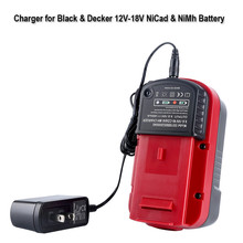 eplacement battery Charger nicd nimh dual use For Black For