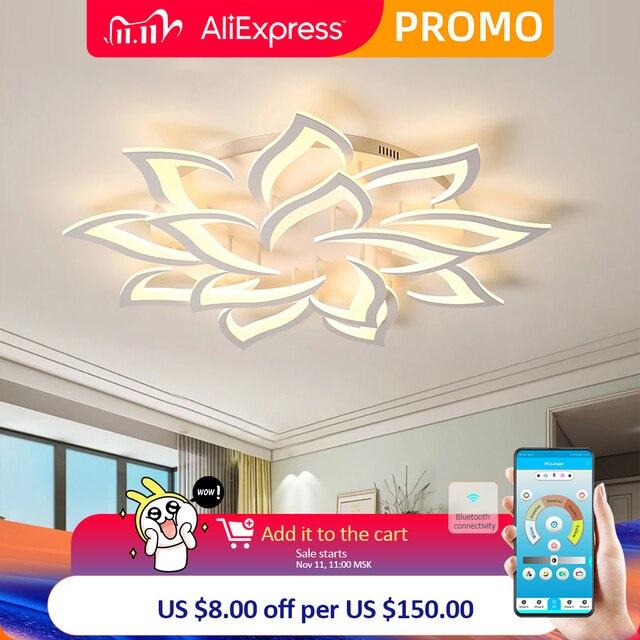 Nuovo led Lampadario Per Soggiorno camera Da Letto lampadario di Casa da sala Moderna del Soffitto del Led Lampadario Lampada di Illuminazione lampadario