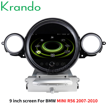 Krando 9 Android 10.0 4G 64G Car Radio Audio Player Multimedia GPS for BMW Mini Cooper R56 R60 2007-2014 Navi Player Carplay image
