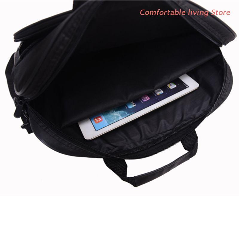Портфель сумка 15,6 дюймов ноутбук сумка-мессенджер сумка бизнес офис сумка для мужчин женщин