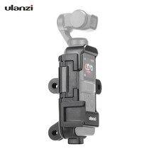 """Ulanzi OP 7 funda carcasa extendida para Vlog multifuncional, micrófono de montaje en tornillo de 1/4 """", soporte para zapata fría para DJI Osmo Pocket para GoPro"""