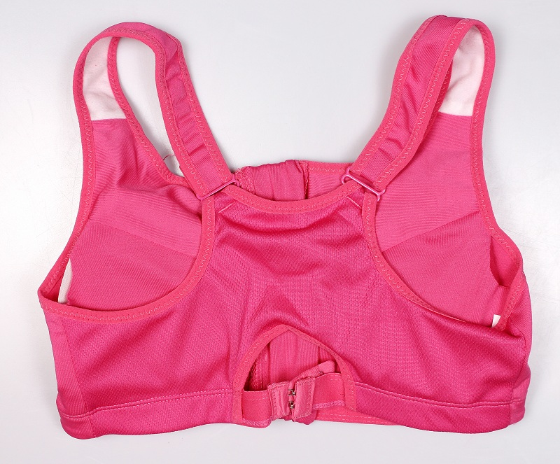 Women's Zipper Push Up Sports Bra 27