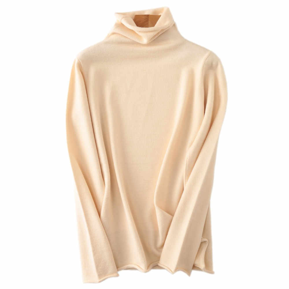 Free shipping 새 100% 캐시미어 sweater women's 캐주얼 긴-sleeved shirt 스웨터 헤징 두께네요 및 겨울 스웨터 woman