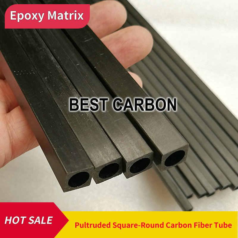 8pcs 2mm Carbon Fiber Rod 500mm Length Solid Lightweight Spar Support Pultruded