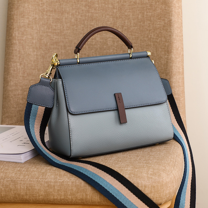 NEW Luxury Genuine Leather Handbags Women Bags Brand Designer Female Crossbody Bags For Girl Retro Shoulder Bag Bolsa Feminina