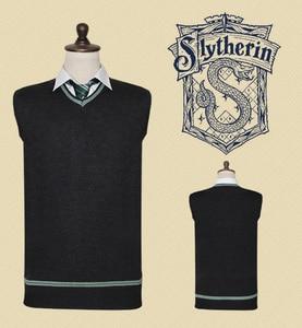 Image 5 - Free Shipping Hufflepuff Cosplay Robe Cloak Skirt Shirt Sweaters Tie Scarf Uniform for Harris Costume