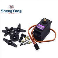 Servo de Metal Digital MG996 para coche de control remoto en miniatura Futaba JR, helicóptero, barco para Arduino UNO diy, el mejor precio