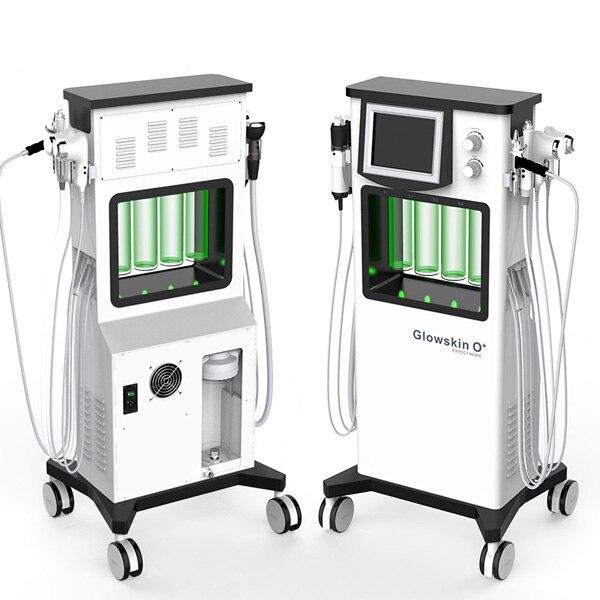2019 nouvelle technologie Glowskin eau peeling oxygène jet nettoyage Facial anti-âge visage levage soins de la peau beauté machine