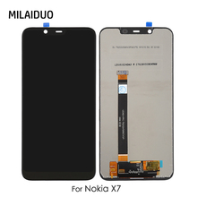 LCD Display For Nokia X7 Touch Screen Digitizer PHOENIX LCD For Nokia 8.1 LCD Assembly Replacement Black No Frame 6.18 inch for iocean x7 fhd 1920x1080 lcd screen display with touch screen digitizer assembly black 100% warranty