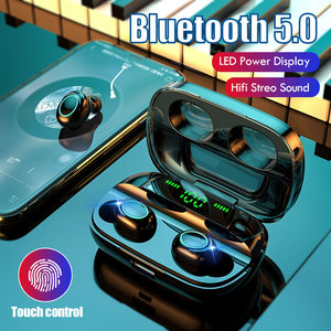 Image 3 - Lovebay Wireless Bluetooth 5.0 Earphones LED Display TWS Bluetooth Headphones Touch Control Waterproof Noise Cancelling Headset