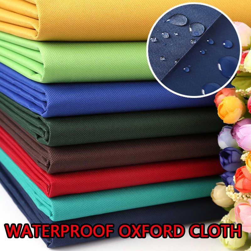 tissu impermeable 100x150cm toile oxford rembourree pour l exterieur polyester noir tente en pvc toile impermeable tissu pour auvent bricolage
