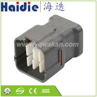 Envío Gratis 5 Juegos 16pin macho auto eléctrico enchufe cable de cableado conector impermeable 6188-0495