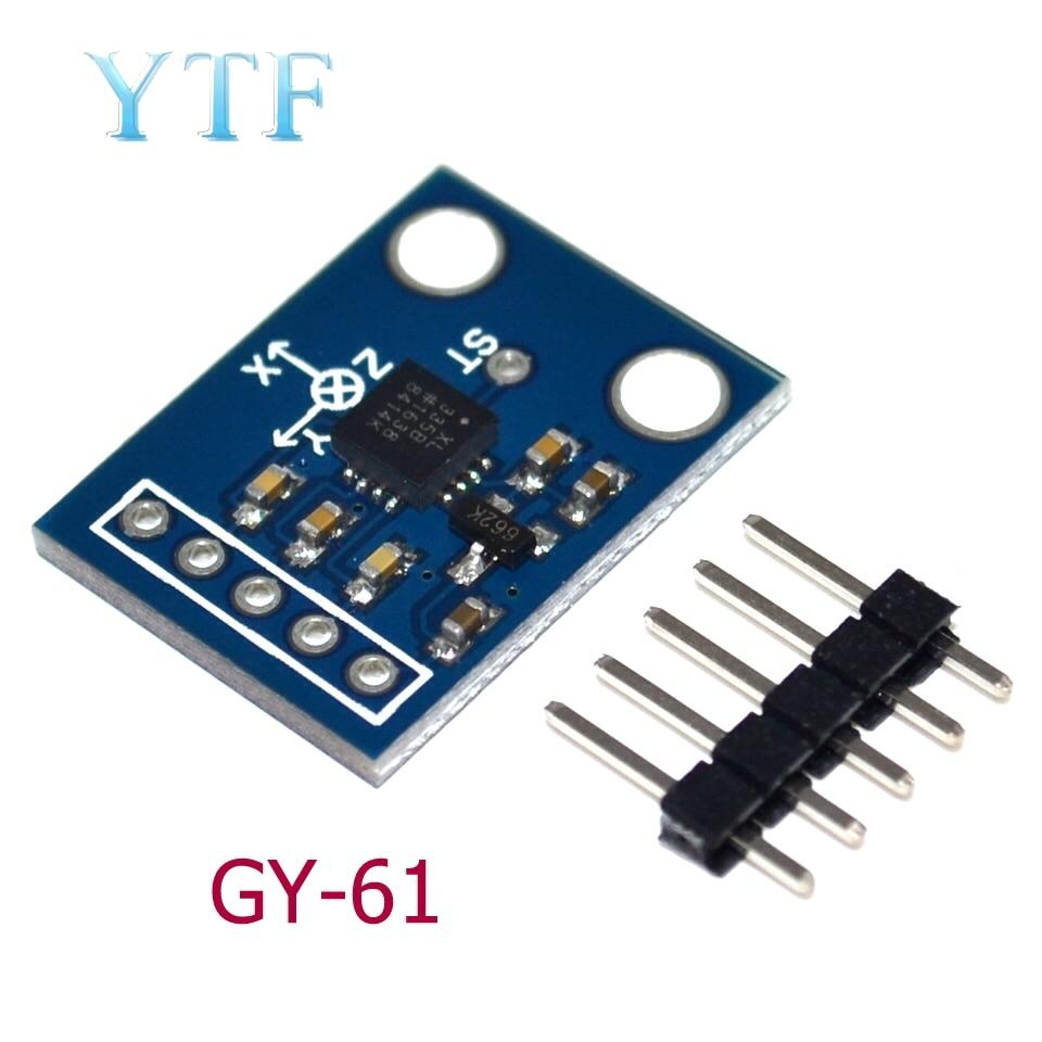 ADXL335 Three-Axis Accelerometer Tilt Angle Module Alternative MMA7260 GY-61
