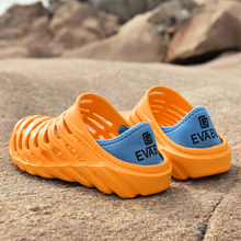 Hot Sale Crocse Platform Garden Sandals Slippers Slip Croc EVA Lightweight Men's Sandles 39-45 Colorful Shoes for Summer Beach(China)