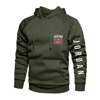 2021 New Spring Men's Loose Hoodie Long Sleeve Sweater Pullover Men's Raglan Sleeve Color Block Pocket 4xl Thick Warm Jacket