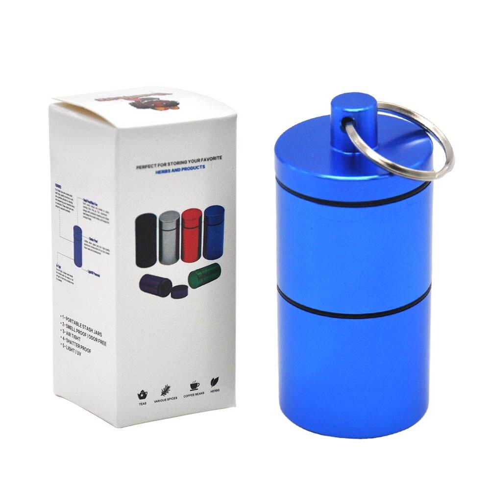 """HORNET Stash Jar-герметичный, устойчивый к запаху алюминиевый контейнер для специй с 2 слоями, чехол для табака """"вы можете собрать его самостоятельно"""" - Цвет: YH033-HP-Lan"""