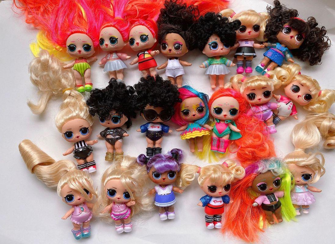 Genuine LOL Surprise Dolls  Lols Dolls Hair Dolls Lol Surprise Dolls Hairgoals Dolls Action Figure Toys Kids Gift Toys For Girls