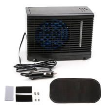 Adjustable 12V 60W  Car Air Conditioner  Cooler Cooling Fan Water Ice Evaporative Cooler Portable 2 speed n incredibly popular