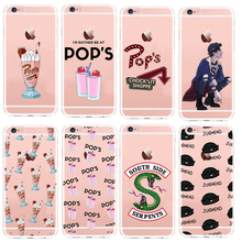 American TV Riverdale Id Rather Be At Pops Hard PC Phone Cover Cases For iPhone5S SE 6 6S 6Plus 7 7Plus 8 8Plus X fundas