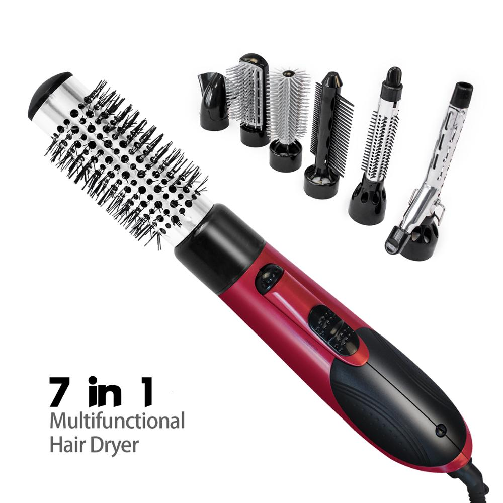Professional Hair Straightener Brush Comb Dryer Straightener Smoothing Brush Hair Iron Dryer Hot Air Comb Styler Styling Tools|Straightening Irons| |  - title=