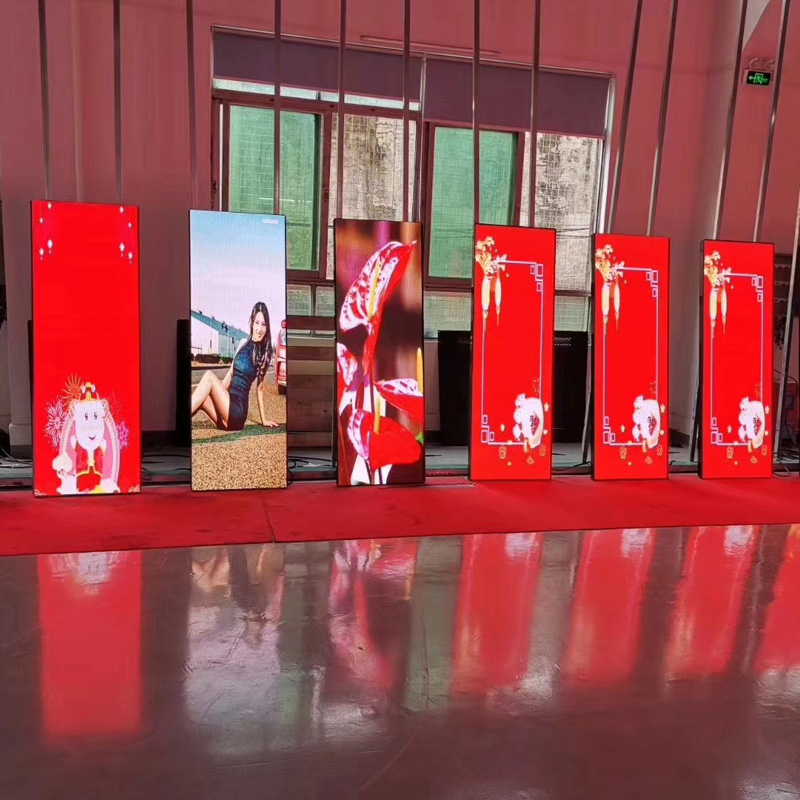 P2.5 Smd  Full Color Indoor Led Poster Display  Advertising Led Banner Screen Led Mirror Screens