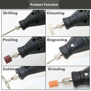 Image 5 - 110V~230V Home Diy Mini Electric Drill Engraver Grinder Dremel Rotary Tool With 192pcs Accessories Drilling Machine Power Tool