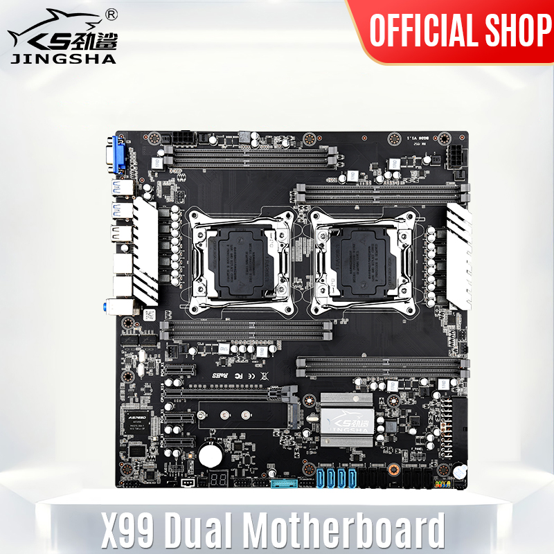 X99 Dual CPU Motherboard Socket LGA 2011 v3 Mother Board 10 SATA Port for Chia x99 Placa Mae Support XEON V3/V4 Processors