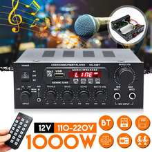 Bluetooth Stereo Amplifier Hifi Digital Audio Home Karaoke Power Amplificador Car Auto Amplifier HiFi USB Audio Processor