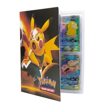 Pokemon Cards File Collectors Album Book Manual Folder Anime New Game Card VMAX GX EX Collection Trading Card Kid Cool Toy Gift