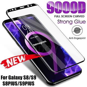 9000D-szkło hartowane do Samsunga Galaxy modele S8 S9 Plus Note 9 8 w pełni zakrzywione ochrona ekranu do Samsunga S6 S7 Edge tanie i dobre opinie PINDOY CN (pochodzenie) Przedni Film Galaxy s6 Galaxy s6 krawędzi Galaxy S7 krawędzi Galaxy S8 Galaxy S8 Plus Galaxy Note 8