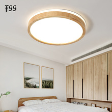 Modern LED Ceiling Lights For Living Room Led Decoration Lamps Home Lighting Wood Simple Light Fixtures Indoor