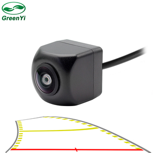 Image 1 - HD 170 Angle Fisheye Lens Dynamic Trajectory Parking Line Car Rear View Reverse Backup Camera For Vehicle Parking Monitor