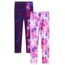 Leggings Flower Girls 2-Pack Print Kids Sheecute SC1752 Skinny