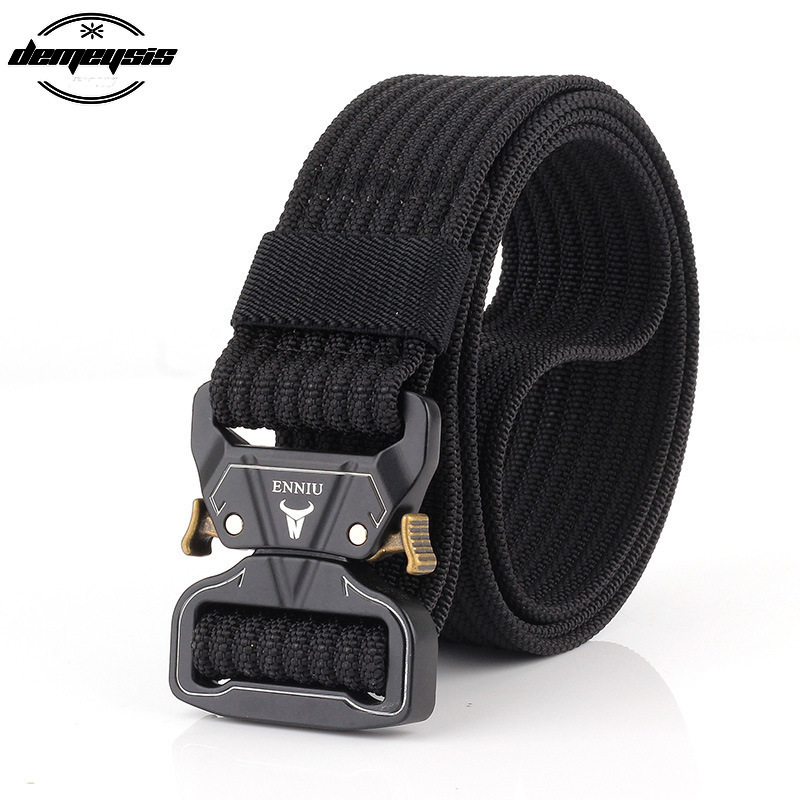 Quick Release Tactical Belt Training Heavy Duty Waist Band Sports Military Army Adjustable Belts