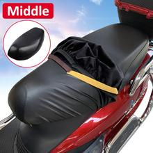 Universal PU Leather Motorcycle Seat Cushion Cover Waterproof Wear-resistant Protector