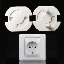 10Pcs Electrical Outlet Plug Socket Cover Baby Proof Child Safety Protector Guard Mains Electrical Anti Baby Child Safety Guard(China)