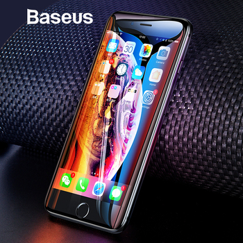 Baseus Universal Protective Glass For iPhone 7 8 6 6s Screen Protector 3D Full Coverage Tempered Glass For iPhone 6 7 8 Plus 1