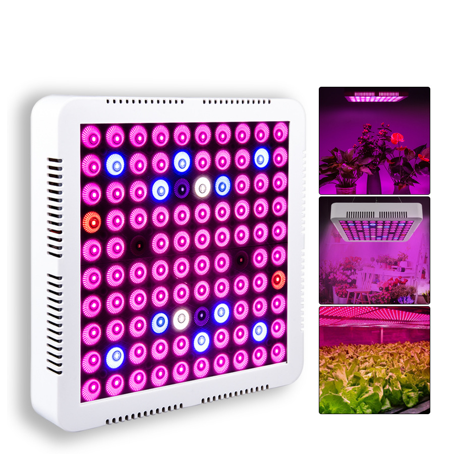 Led Grow Light Full Spectrum Light 110V 220V 300W Growbox 100 Lamp Beads For Flower Plant Veg Hydroponics System Grow/Bloom Tent