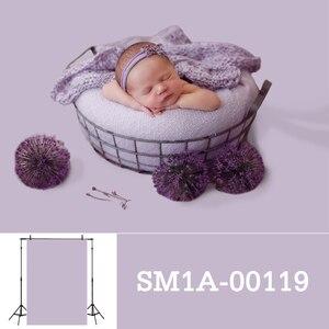 Image 3 - Allenjoy fotografia pano de fundo recém nascido cor sólida retrato do bebê aniversário tiro tamanho pequeno photocall photo studio prop