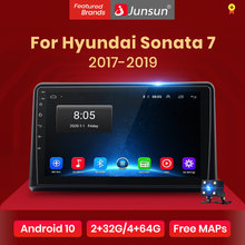 Junsun V1 Pro 2G 128G Android 10 Voor Hyundai Sonata 7 Lf 2017 - 2019 Auto Radio multimedia Video Player Navigatie Gps 2 Din Dvd