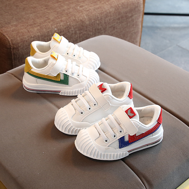 Hot Sales LED Cartoon Baby Sneakers Cute Hook&Loop Sports Baby Casual Shoes Infant Tennis Sports Girls Boys Shoes
