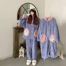 Пижамы женские winter2020 милый возраст снижение в мультяшном
