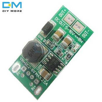 8W USB Input DC-DC 1V 2V-6V 5V to 12V Step Up Boost Module Power Supply Converter Charger Diy Kit Electronic PCB Board Module image