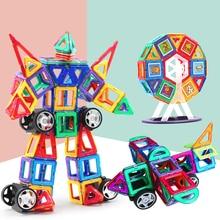 Magnetic Toys Big Size Building Blocks DIY Bulk Retail Kids Educational Toys Accessory Construct Magnet Model Gift
